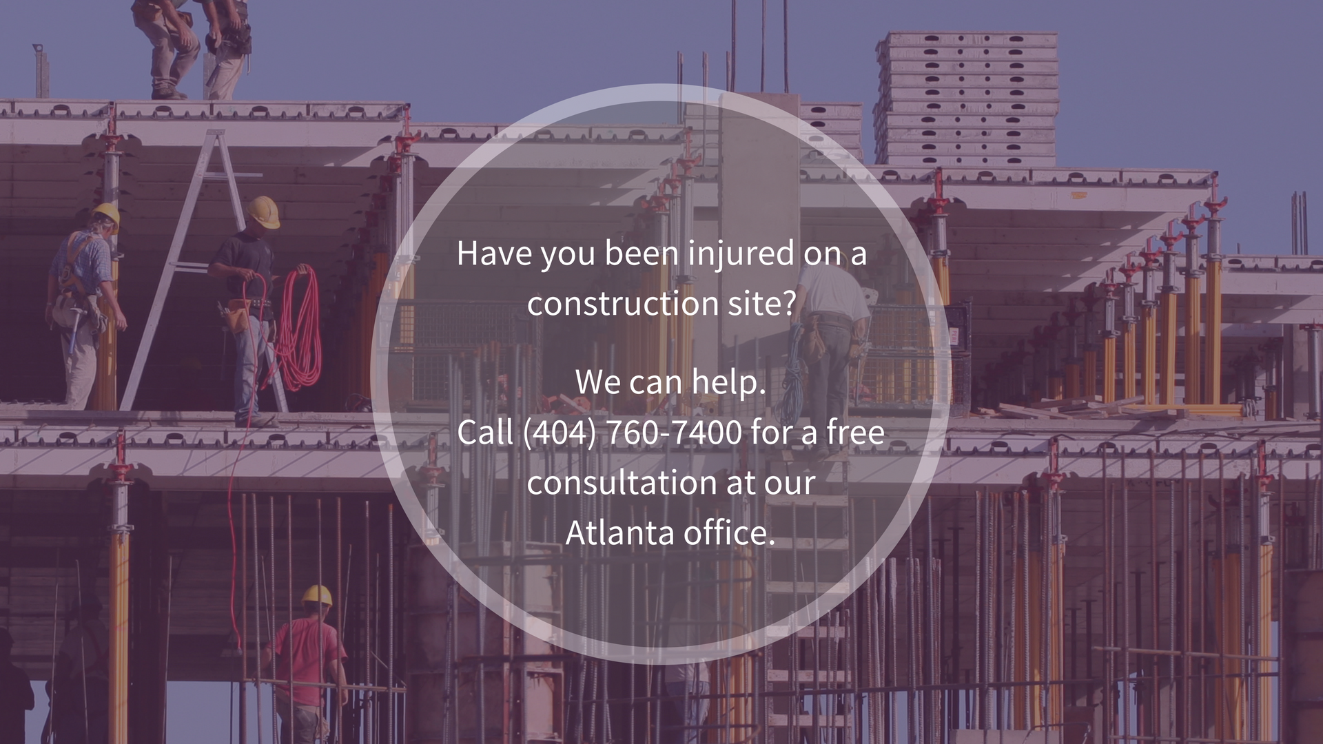 Construction Accident Attorney Atlanta