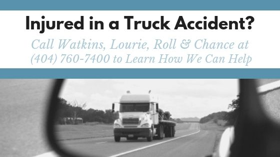 Common Truck Accident Injuries in Georgia CTA | Watkins, Lourie, Roll & Chance