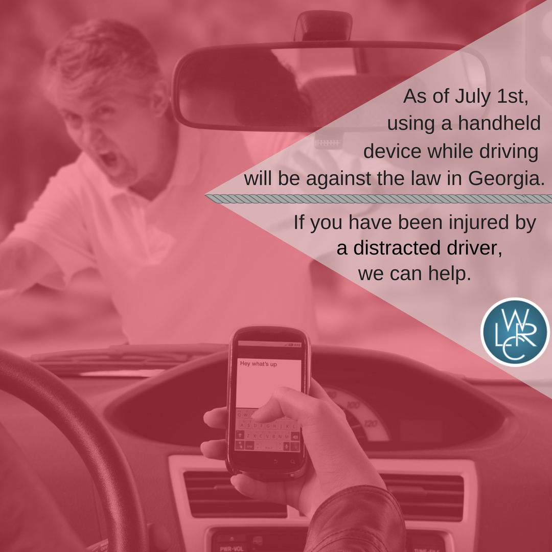 Hands-Free Georgia Act | Distracted Driving Attorney in Atlanta