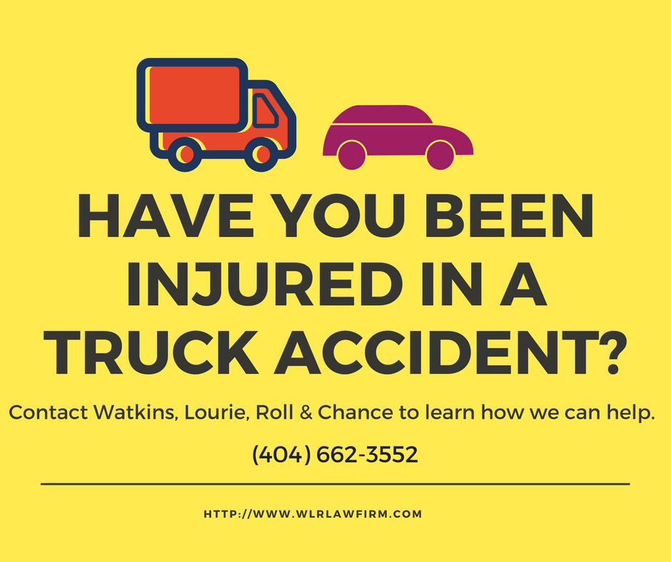 Atlanta Truck Accident Lawyers - Watkins Lourie Roll & Chance