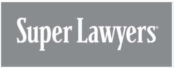 Super Lawyer rating award